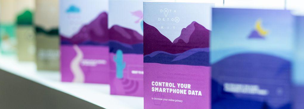 Data Detox Kit printed leaflets