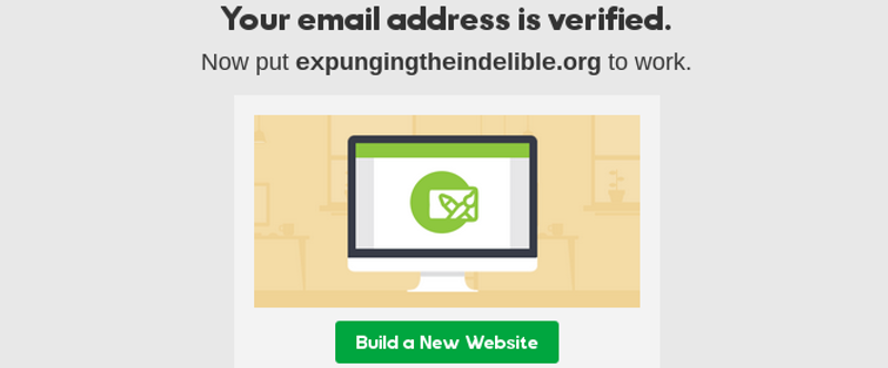 Email verified