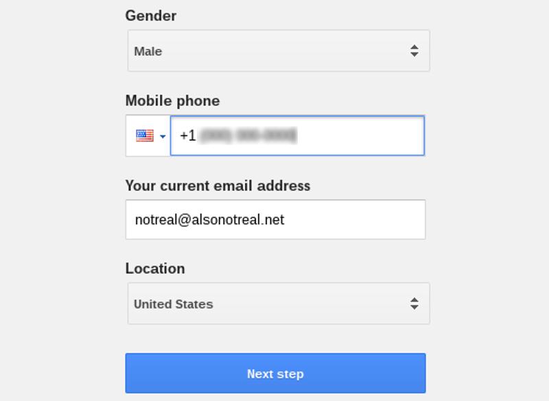 New Gmail account 02