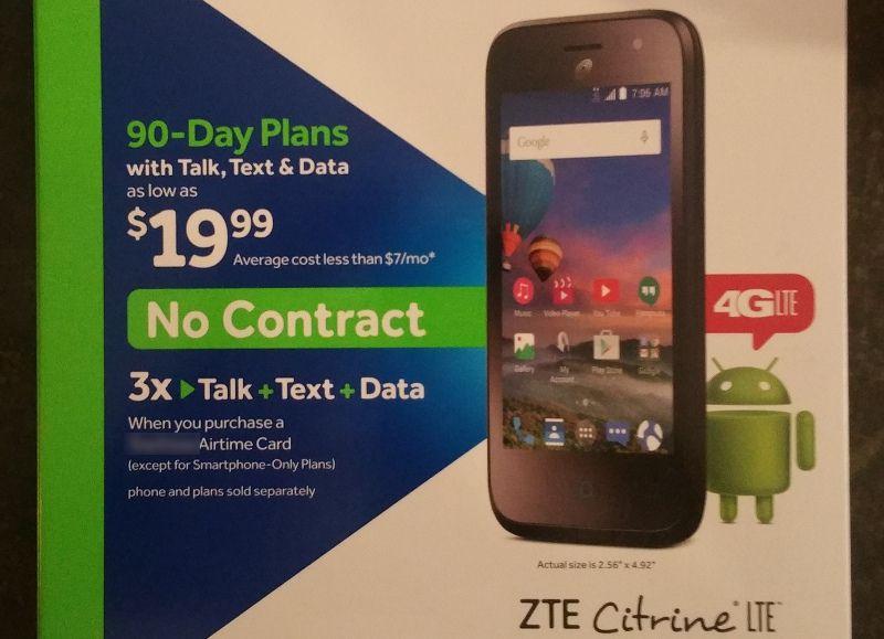 Buying a prepaid phone