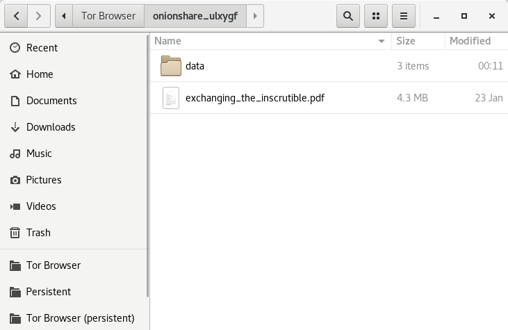 Inside the extracted folder