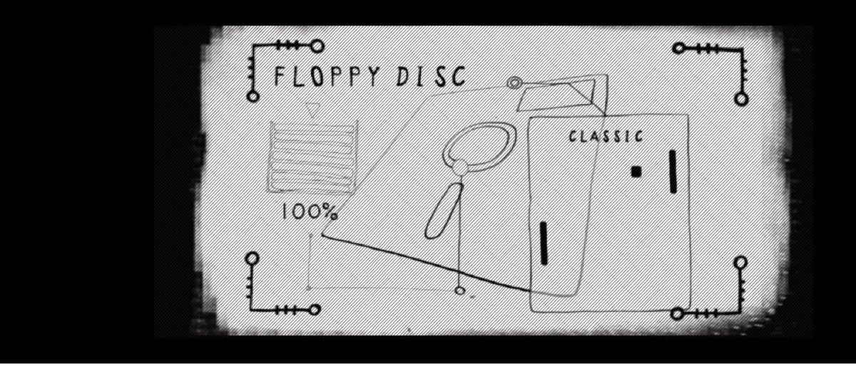 cartoon floppy disk