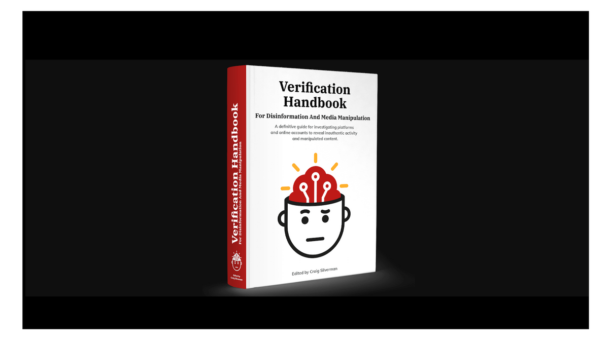 cover of Verification Handbook For Disinformation And Media Manipulation