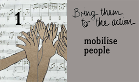 mobilise people