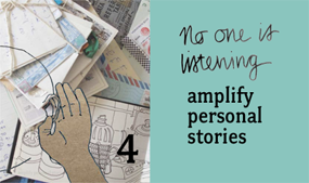 amplify personal stories