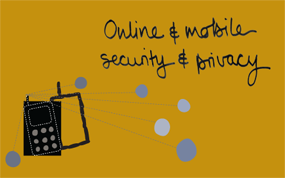online and mobile, security and privacy