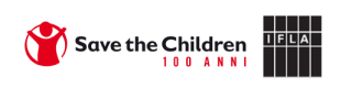 Save the Children and IFLA logos