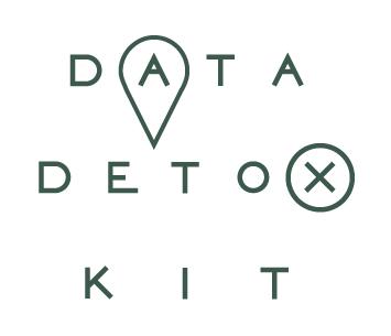 The logo displaying the words Data Detox Kit